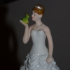 Cake Topper Friday: The Bride and the Frog
