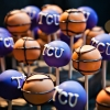 For the Guys:  College Basketball Cake Pops