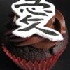 LOVE Wedding Cupcake