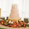 Peaches Wedding Cake