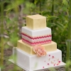Pastel Thai Inpired Wedding Cake