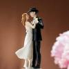 Cake Topper Friday:  Sweet Western Waltz Couple