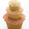 Three Tiered Wedding Cupcake