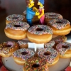 For the Guys:  The Simpsons and Doughnuts – A Groom's Cake