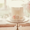 Double Tall Covered Bridesmaid's Luncheon Cake