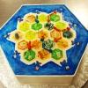 For the Guys: Settlers of Catan Groom's Cake