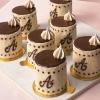 Baby Cakes:  Chocolate Espresso Charlottes