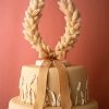 Lucky Horseshoe Wedding Cake Topper
