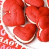 Wedding Cake Alternative: Heart Whoopie Pies
