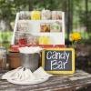 Creative Wedding Cake Favors: A Candy Bar