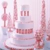 Christmas in July Wedding Cake