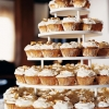 Wedding Cupcakes – Glittering Gold Dust Cupcakes