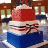 All-American Wedding Cake