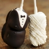 Bride and Groom Marshmallow Favors