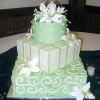 Light Green Wedding Cake