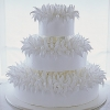 Chrysanthemum Wedding Cake