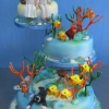 'Finding Nemo' Wedding Cake