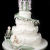 Vintage Fairground Wedding Cake