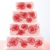 Wedding Cake with Hand-Piped Roses