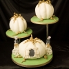 Pumpkin Carriage Wedding Cake