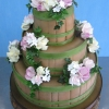 Barrel Wedding Cake