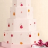 Wedding Cake with Edible Jewels