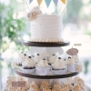 Cupcakes and a Wedding Cake
