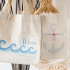 Fun Wedding Favor – Personalized Cotton Tote Bags