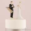 Fun Bride and Groom Cake Topper
