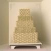 Fall Basket Wedding Cake
