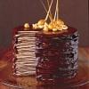 Chocolate Crepe Wedding Cake