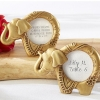 Fun Wedding Favor – Lucky Gold Elephant Frame
