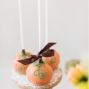 Fun Wedding Favors – Pumpkin Brownies