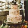 Carved Tree Wedding Cake