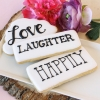 Fun Wedding Favor – Personalized Text Cookies