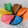 Fun Wedding Favor – Color Fortune Cookies