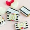 Fun Wedding Favor: Miniature Candy Bars