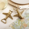 Fun Wedding Favor – Airplane Bottle Opener