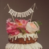 Naked Bundt Cake with Flowers