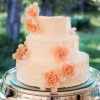 Pretty Pastel Pink Cake with Sugar Flowers