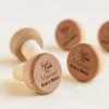 Fun Wedding Favor – Personalized Wine Cork Stopper