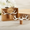 Fun Wedding Favor – Antler Bottle Stoppers