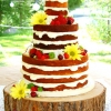 Naked Summertime Cake