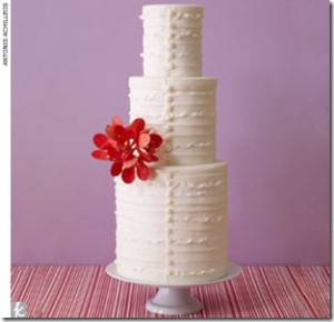 Buttoned Cake