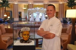 Chef Laurant With Sugar Jewels