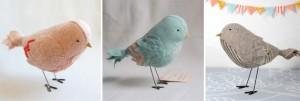 handmade birdie