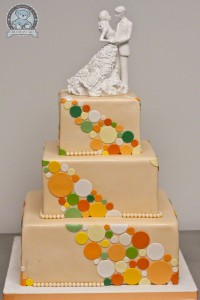 Orange with Accents Cake