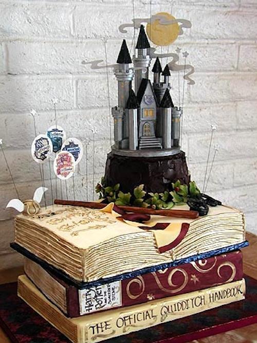 Harry Potter Wedding Cake.Harry Potter Cake A Wedding Cake Blog