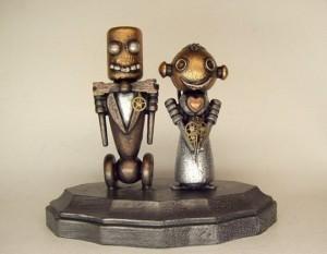 robot topper