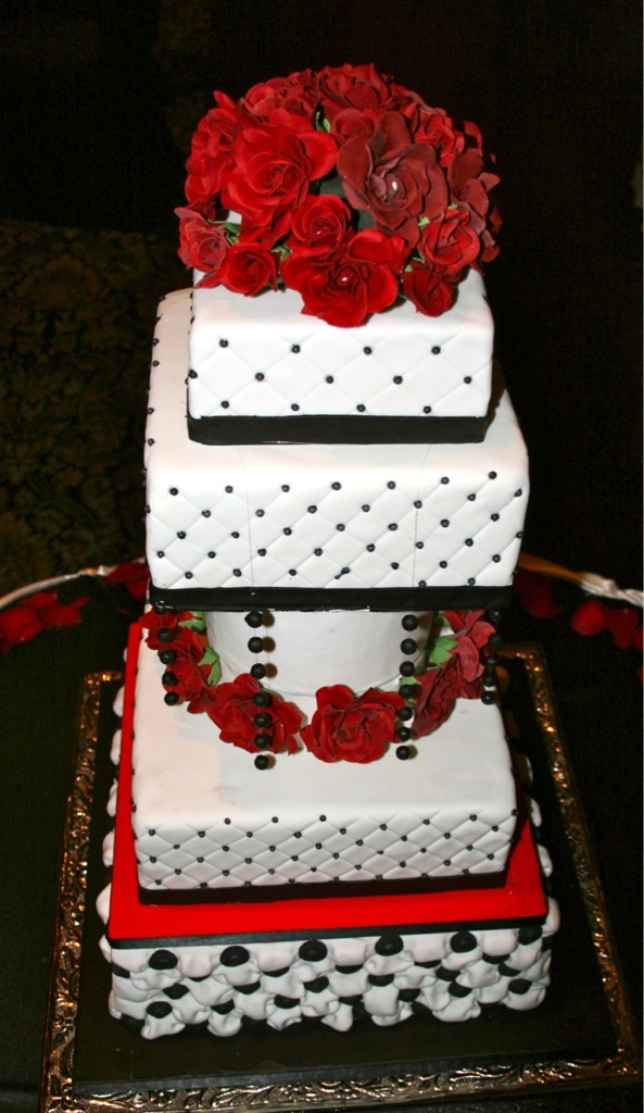 Dramatic Wedding Cakes A Wedding Cake Blog